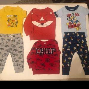 12 piece Carters baby boy bundle - 12 Month